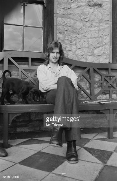 British singersongwriter and guitarist Eric Clapton at home Ewhurst Surrey UK 20th February 1971
