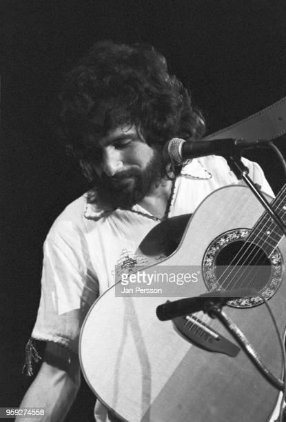 British singersongwriter Cat Stevens performing in Copenhagen Denmark 1974
