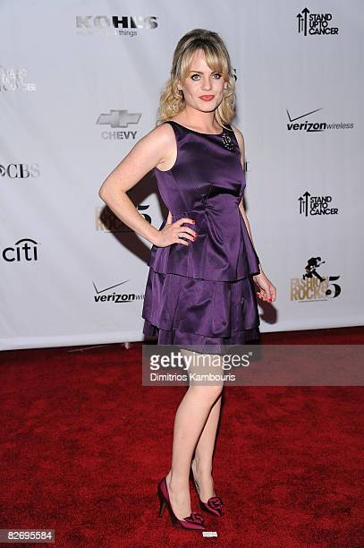 British singer-songwriter Duffy attends the Conde Nast Media Group's Fifth Annual Fashion Rocks at Radio City Music Hall on September 5, 2008 in New...