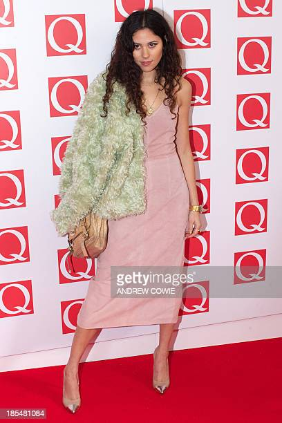 British singersongwriter Eliza Doolittle attends The Q Awards 2013 in central London on October 21 2013 AFP PHOTO/ANDREW COWIE