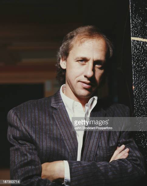 British singersongwriter guitarist and record producer Mark Knopfler 1989