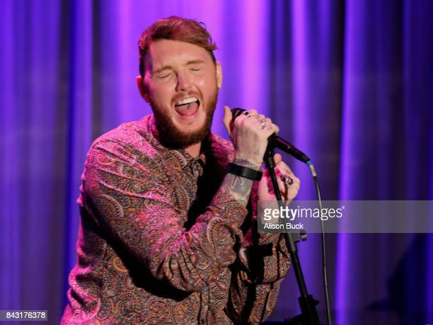 British singer-songwriter James Arthur performs onstage during Spotlight: James Arthur at The GRAMMY Museum on September 5, 2017 in Los Angeles,...