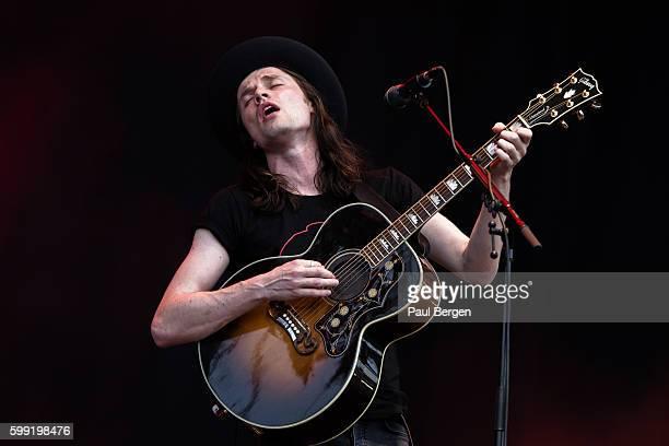 British singersongwriter James Bay performs at Pinkpop festival Landgraaf Netherlands 10th June 2016