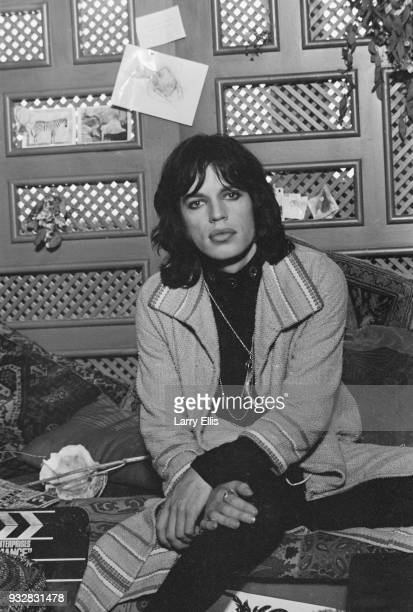 British singer-songwriter Mick Jagger on the set of British crime drama film 'Performance', UK, 16th September 1968.