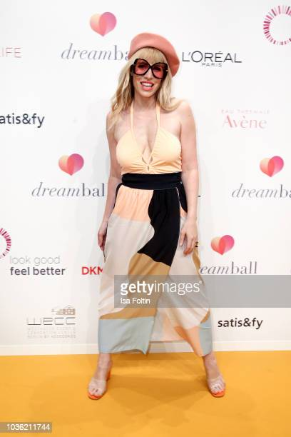 British singersongwriter Natasha Bedingfield attends the Dreamball 2018 at WECC Westhafen Event Convention Center on September 19 2018 in Berlin...