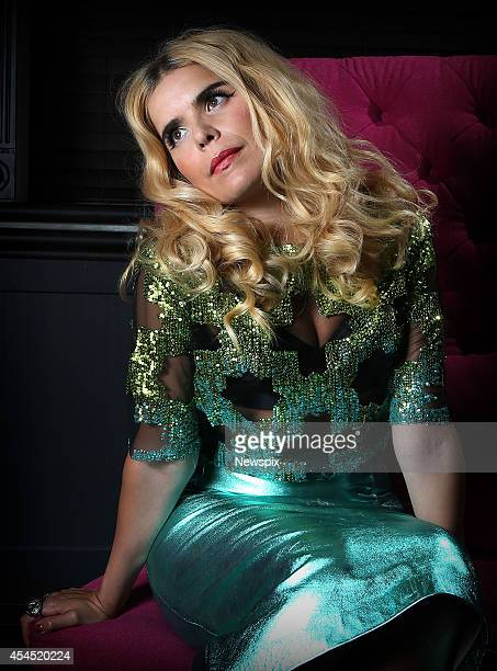 British singersongwriter Paloma Faith poses during a photo shoot on September 2 2014 in Sydney Australia Faith is in Australia to promote her new...