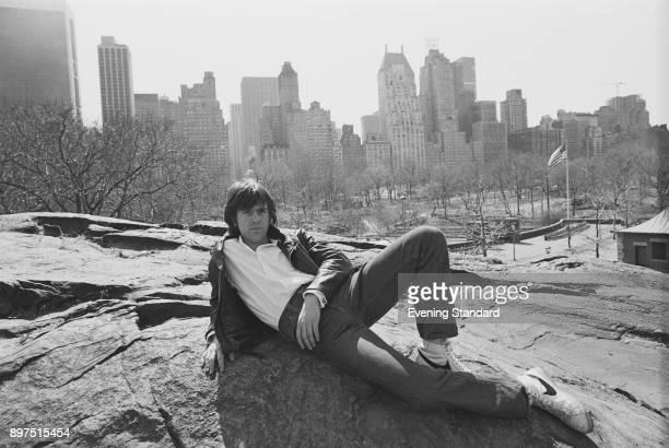 British singersongwriter Peter Gabriel at central park New York US 5th April 1977