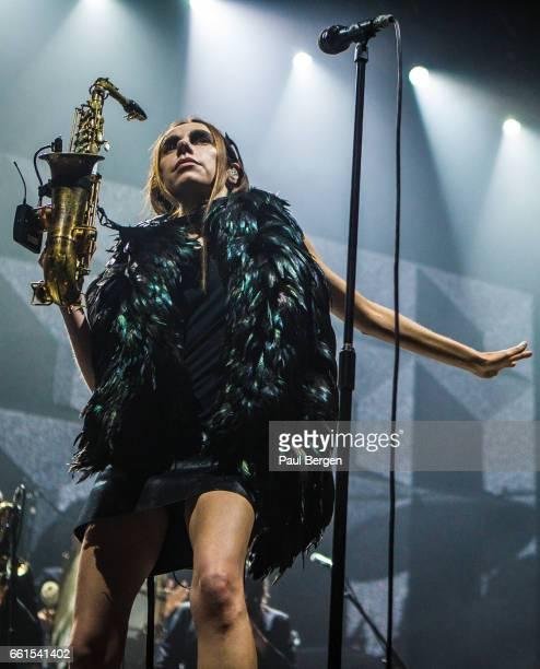 British singersongwriter PJ Harvey performs at Heineken Music Hall Amsterdam Netherlands 16 October 2016