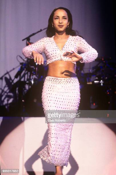 British singersongwriter Sade performing at the Paramount Theater at Madison Square Garden in New York City 22nd March 1993