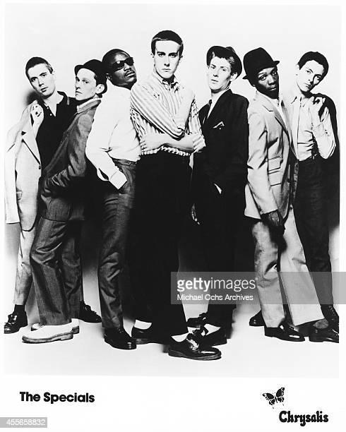 British Ska group The Specials poses for a record company publicity shot circa 1978