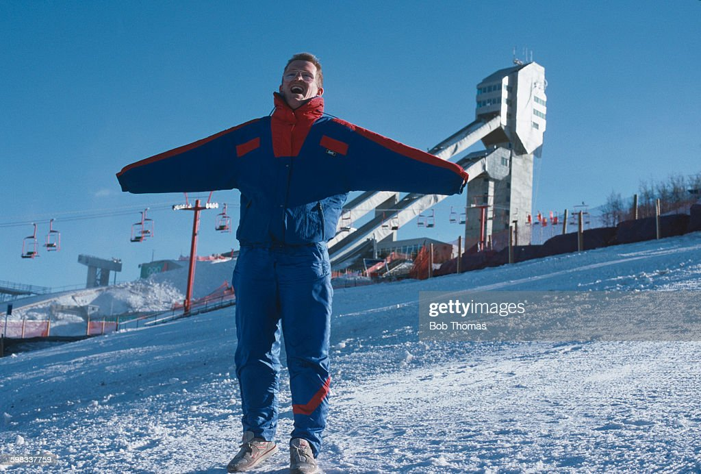 Eddie The Eagle : News Photo