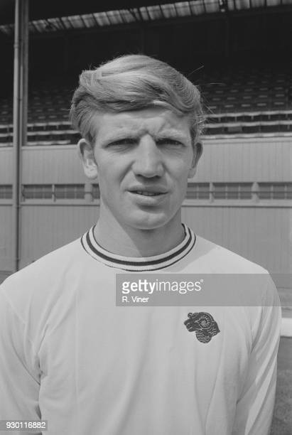 British soccer player Alan Durban of Derby County FC UK 22nd July 1968