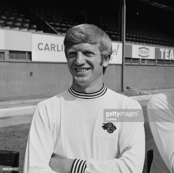 British soccer player Alan Durban of Derby County FC UK 3rd September 1971