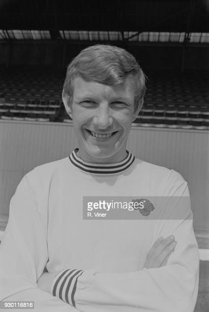 British soccer player Alan Hinton of Derby County FC UK 22nd July 1968