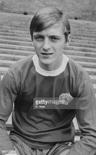 British soccer player Allan Clarke of Leicester City FC UK 22nd July 1968