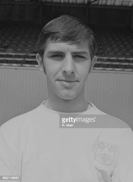 British soccer player Barry Butlin of Derby County FC UK 22nd July 1968