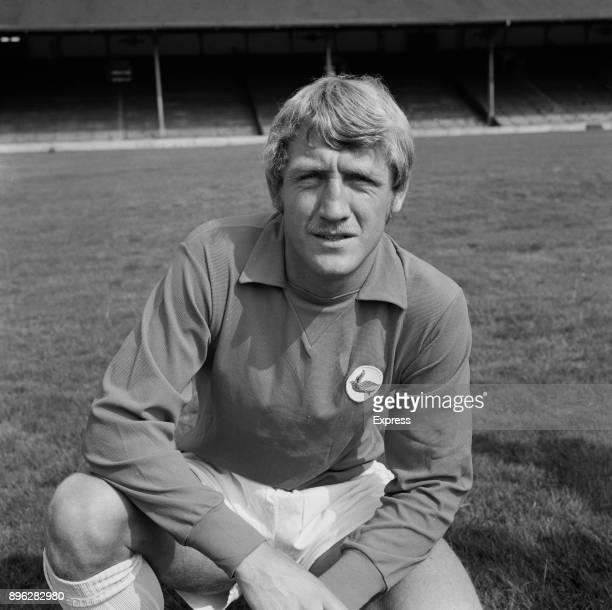 British soccer player Brian Clark of Cardiff City FC UK 21st July 1971