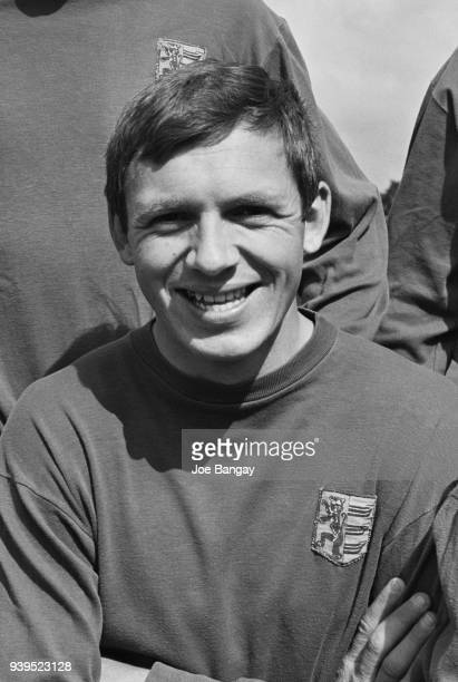 British soccer player Charlie Woods of Ipswich Town FC, UK, 18th July 1968.