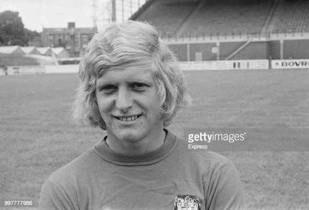 British soccer player Chris Garland of Bristol City FC, UK, 31st August 1971.