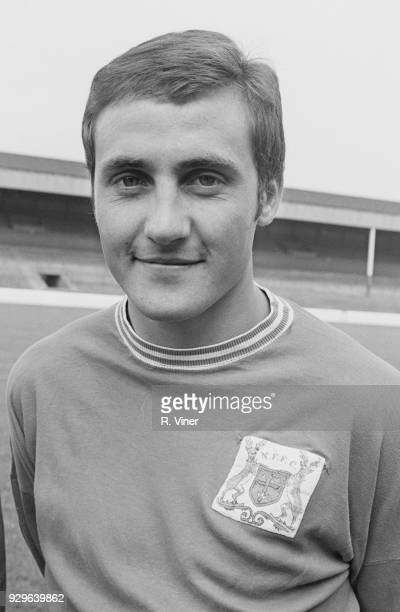 British soccer player Colin Hall of Nottingham Forest FC UK 22nd July 1968