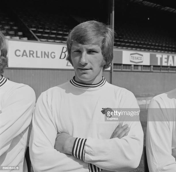 British soccer player Colin Todd of Derby County FC UK 3rd September 1971