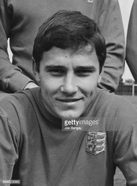 British soccer player Colin Viljoen of Ipswich Town FC, UK, 18th July 1968.