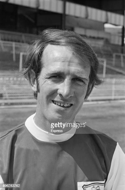 British soccer player David Burnside of Plymouth Argyle FC UK 3rd August 1971