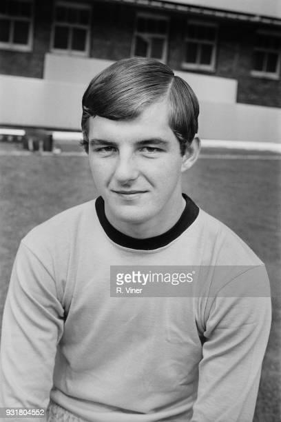 British soccer player Derek Clarke of Wolverhampton Wanderers FC UK 20th August 1968