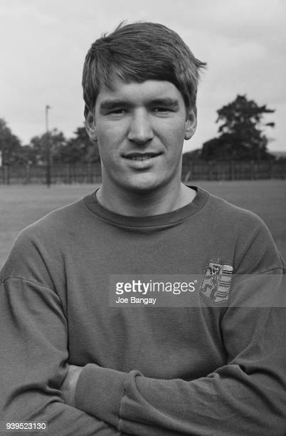 British soccer player Derek Jefferson of Ipswich Town FC, UK, 18th July 1968.