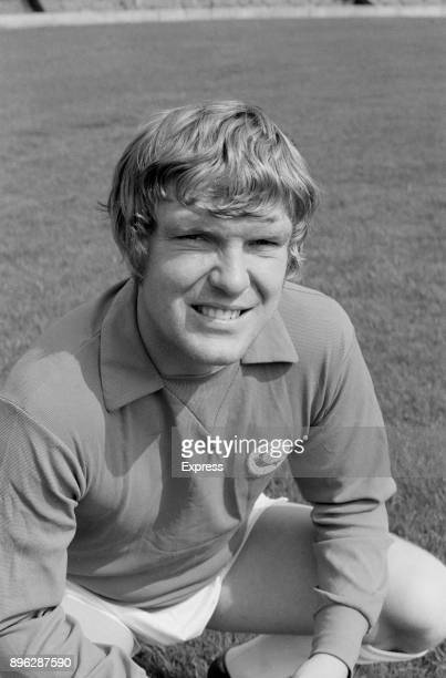 British soccer player Don Murray of Cardiff City FC UK 21st July 1971