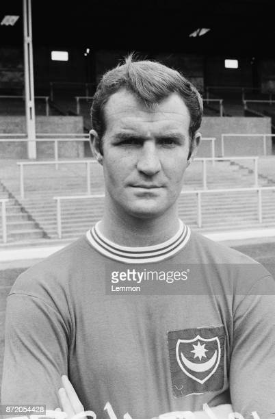 British soccer player Frank Haydock of Portsmouth FC UK 23rd August 1967