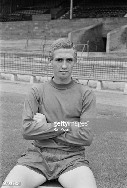 British soccer player Geoff Merrick of Bristol City FC UK 19th September 1968