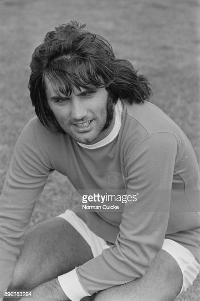 British soccer player George Best of Manchester United FC UK 9th August 1971
