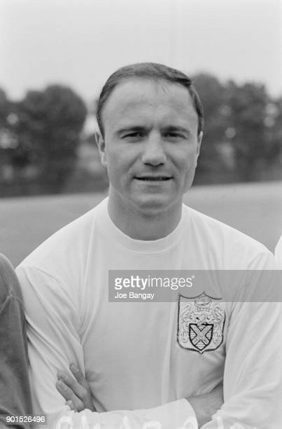 British soccer player George Cohen of Fulham FC UK 18th July 1968