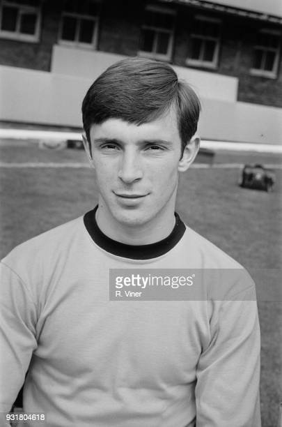 British soccer player Gerry Taylor of Wolverhampton Wanderers FC UK 20th August 1968