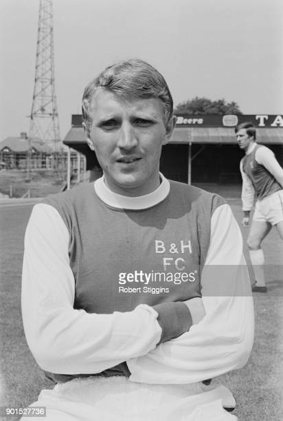 British soccer player Howard Wilkinson of Brighton Hove Albion FC UK 20th August 1968