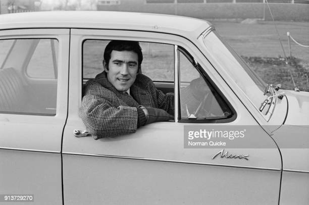 British soccer player Ian Crawford of Peterborough United FC UK 25th January 1968