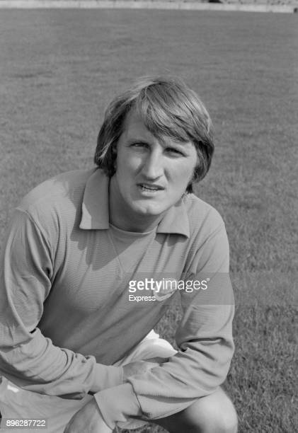 British soccer player Ian Gibson of Cardiff City FC UK 21st July 1971