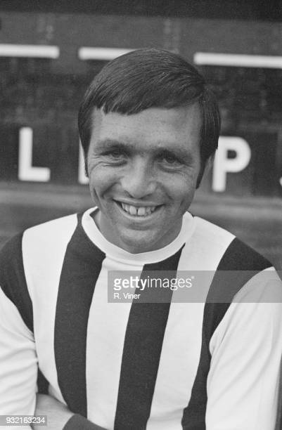 British soccer player Jeff Astle of West Bromwich Albion FC UK 9th August 1968