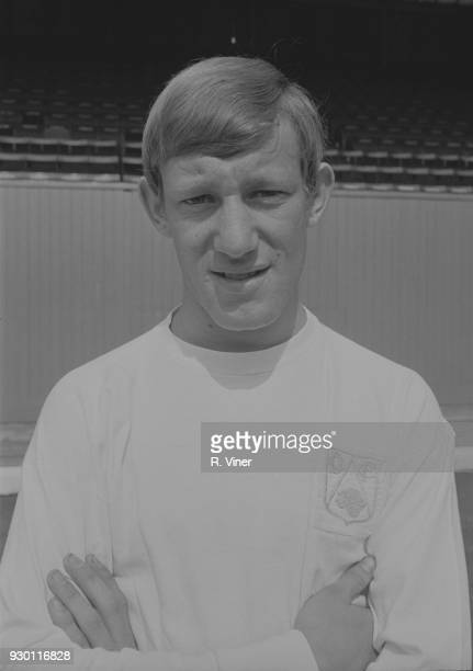 British soccer player Jim Walker of Derby County FC UK 22nd July 1968