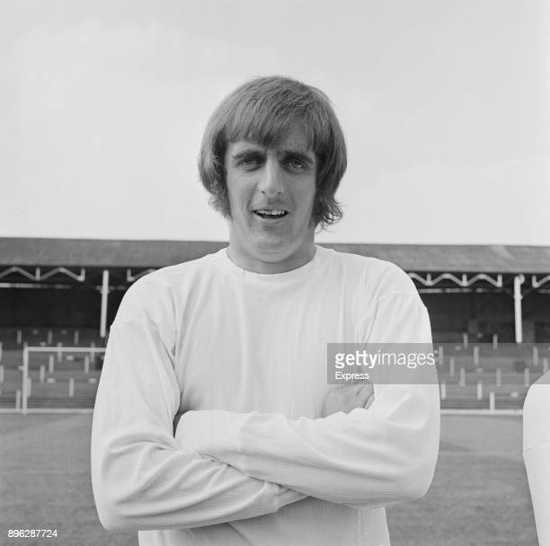 British soccer player John James of Port Vale FC UK 17th August 1971