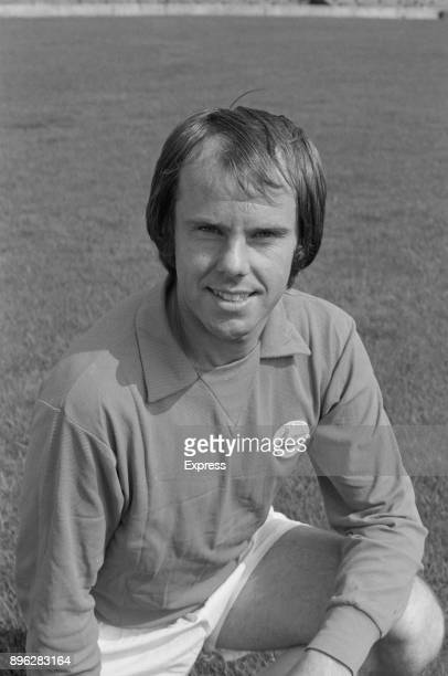 British soccer player Ken Jones of Cardiff City FC UK 21st July 1971