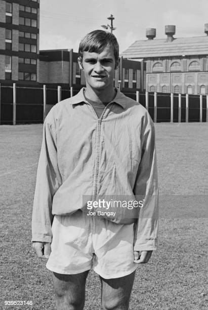 British soccer player Mick Mills of Ipswich Town FC, UK, 18th July 1968.