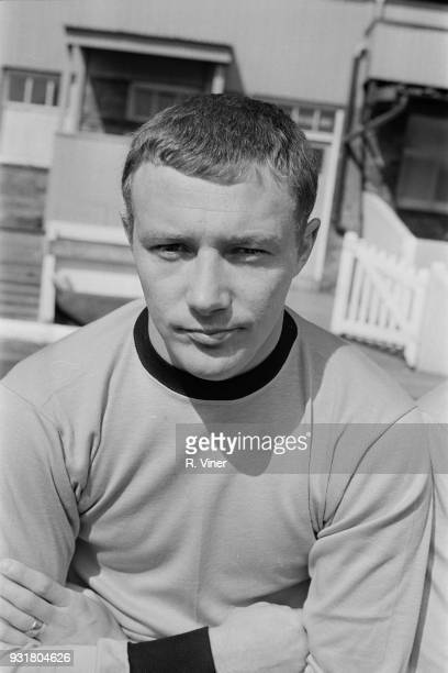 British soccer player Mike Kenning of Wolverhampton Wanderers FC UK 20th August 1968