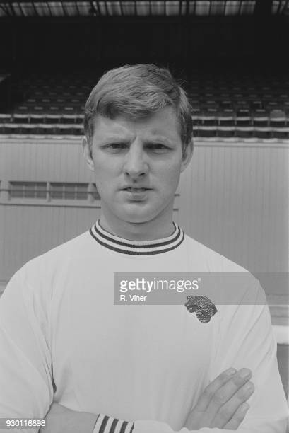 British soccer player Pat Wright of Derby County FC UK 22nd July 1968