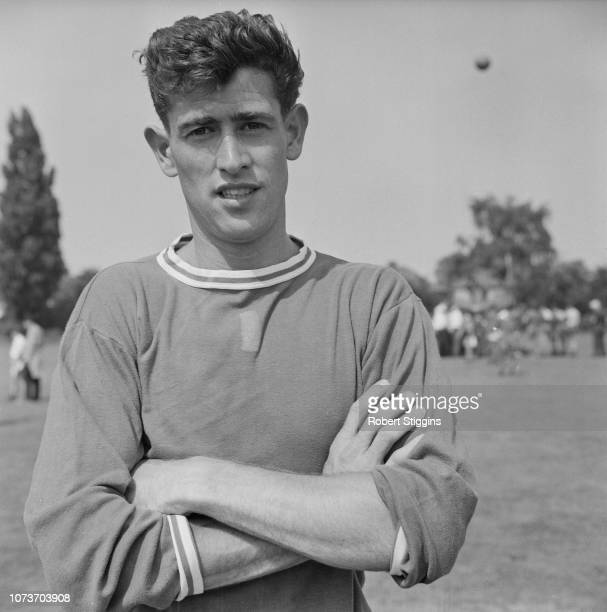 British soccer player Peter Bonetti of Chelsea FC UK 1st August 1963
