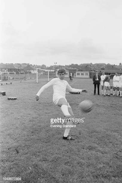 British soccer player Rod Belfitt of Leeds United FC UK 2nd August 1968