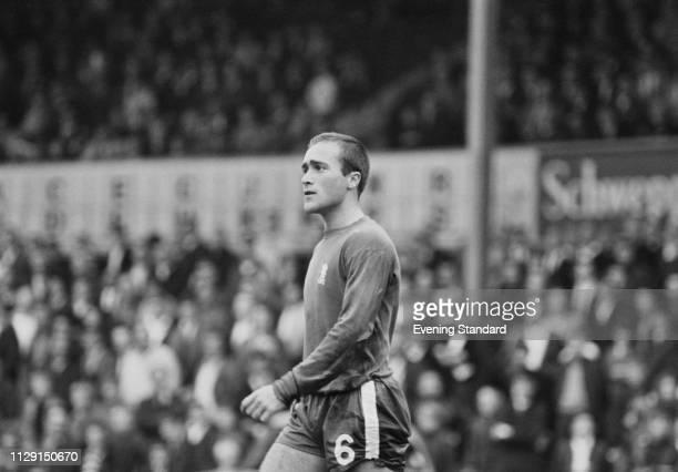 British soccer player Ron Harris of Chelsea FC, UK, 6th August 1968.