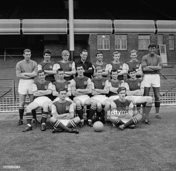 British soccer team Aston Villa FC UK 4th August 1965