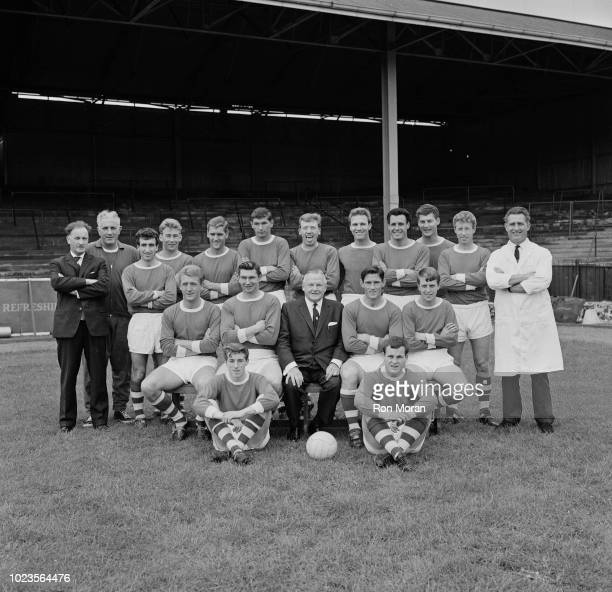 British soccer team Bristol City FC UK 18th August 1965